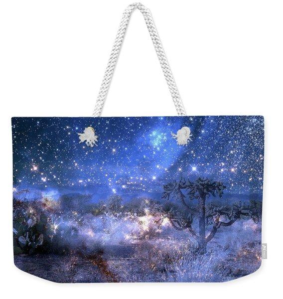 A Starry Night In The Desert Weekender Tote Bag