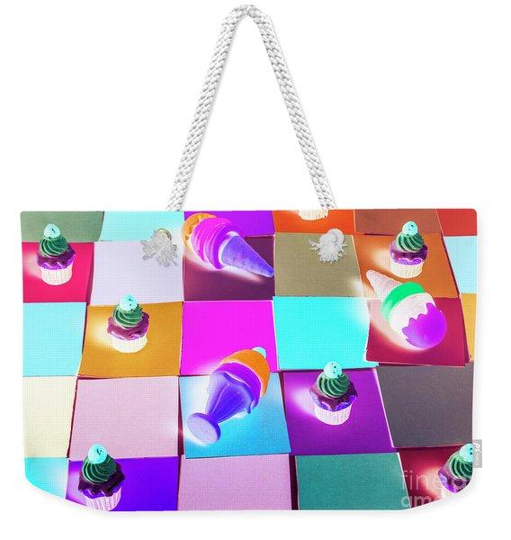 A Sweet Visual Weekender Tote Bag