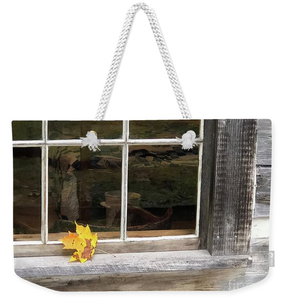 A Thoughtful Moment  Weekender Tote Bag