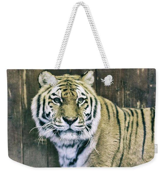 A Tigers Look Weekender Tote Bag