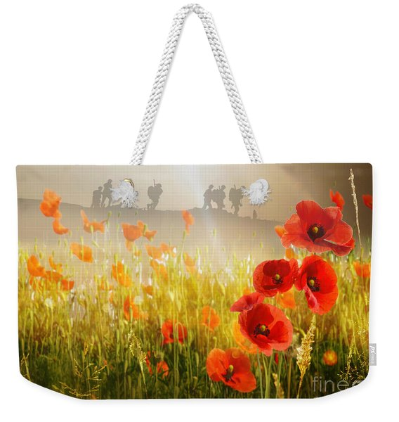 A Time To Remember Weekender Tote Bag