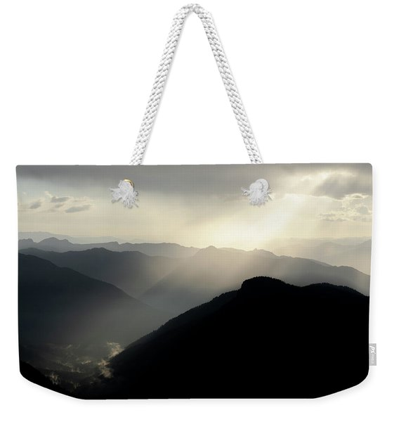 A Touch Of Light Here Weekender Tote Bag