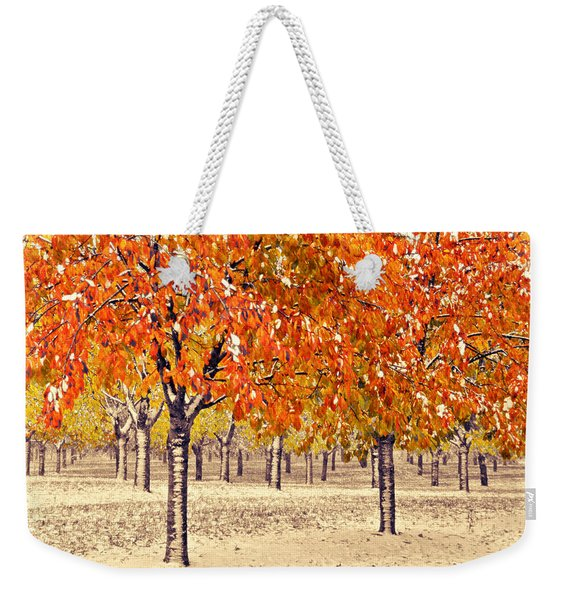 A Touch Of Winter Weekender Tote Bag