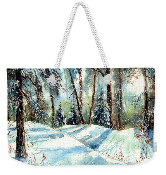 A True Winter Wonderland Weekender Tote Bag