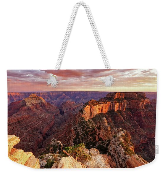 A View From Cape Royal Weekender Tote Bag