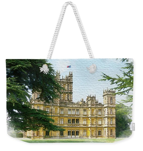 A View Of Highclere Castle 2 Weekender Tote Bag