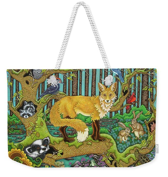 A Vixen In The Forest Weekender Tote Bag