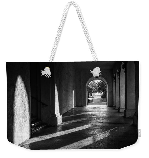 A Walk Among Shadow And Light Weekender Tote Bag