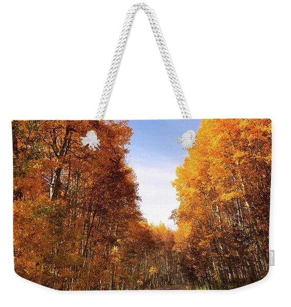 A Walk Down Memory Lane Weekender Tote Bag