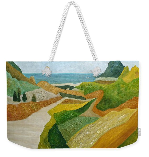 A Walk Down To The Sea Weekender Tote Bag