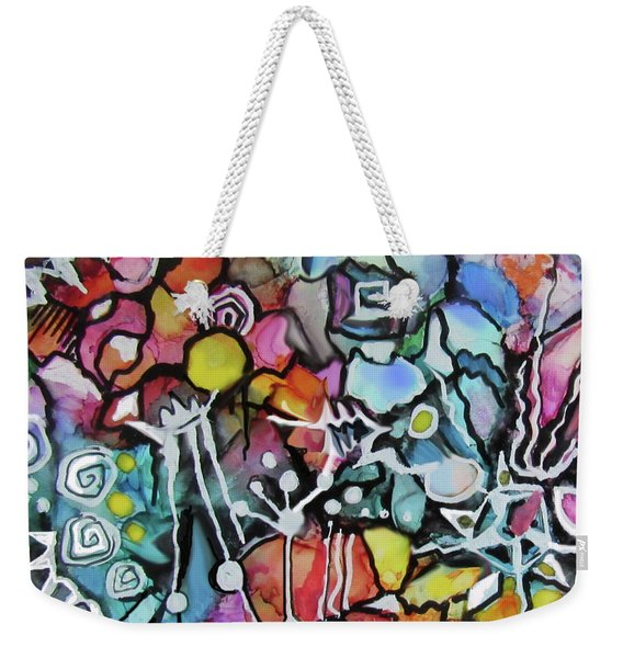 A Zentangle Dance Weekender Tote Bag