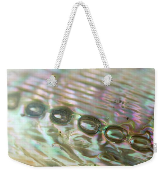 Abalone_shell_9892 Weekender Tote Bag