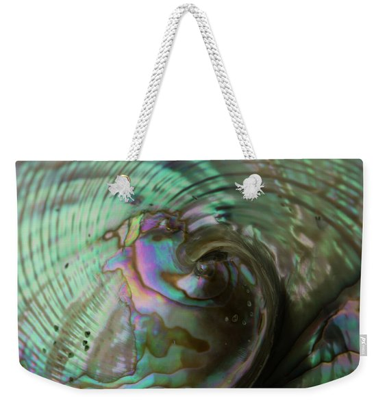 Abalone_shell_9903 Weekender Tote Bag