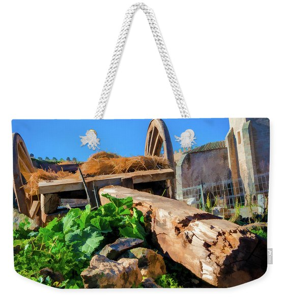 Abandoned Cart Weekender Tote Bag
