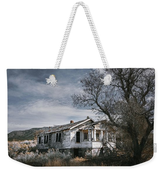 Abandoned Farmhouse In Golden, New Mexico Weekender Tote Bag