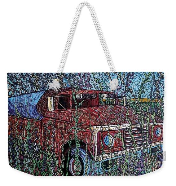 Abandoned Oil Truck  Weekender Tote Bag