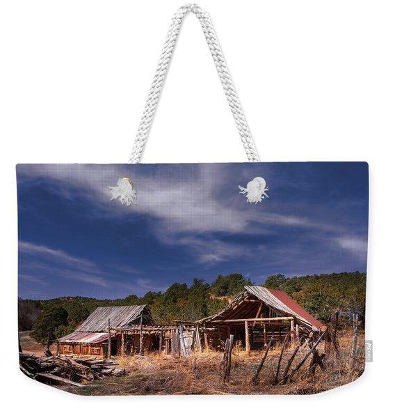 Abandoned Ranch Weekender Tote Bag