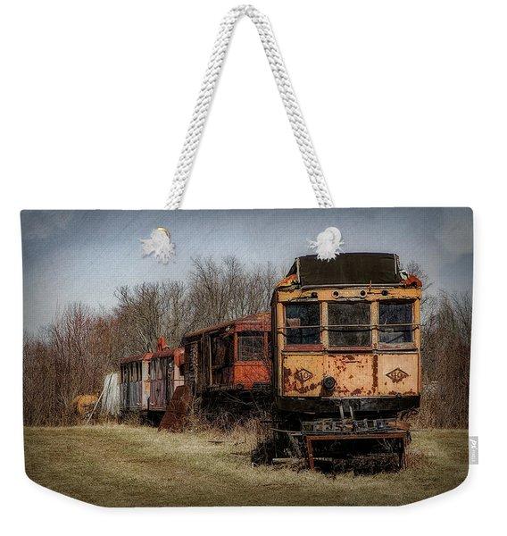 Abandoned Train Weekender Tote Bag