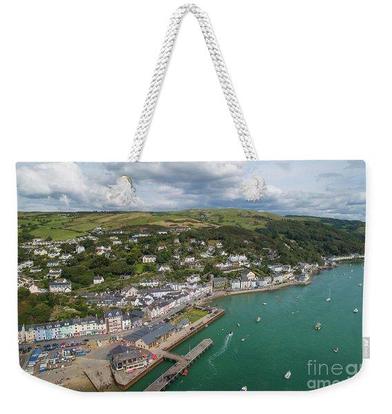Aberdyfi From The Air Weekender Tote Bag
