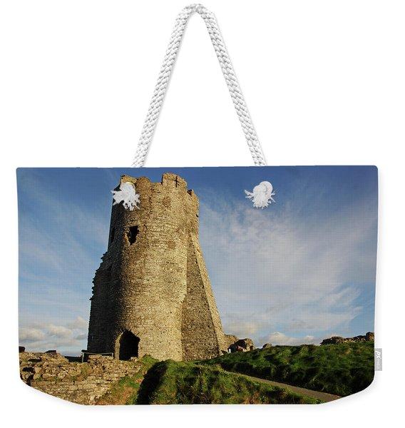 Aberystwyth. The Castle Gatehouse. Weekender Tote Bag
