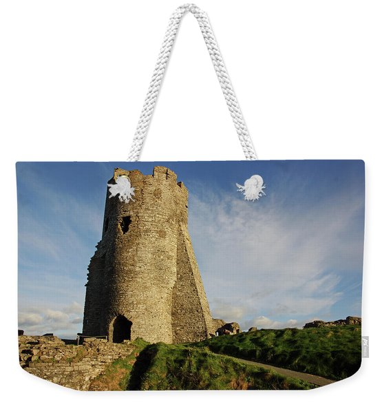 Aberystwyth. The Castle Gatehouse. Weekender Tote Bag