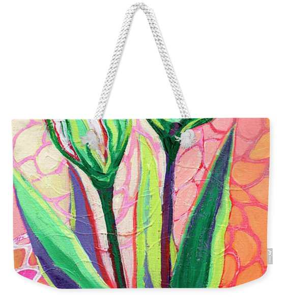 About To Bloom Weekender Tote Bag