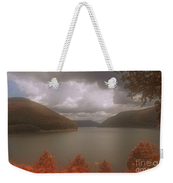 Above The Kinzua Dam Weekender Tote Bag