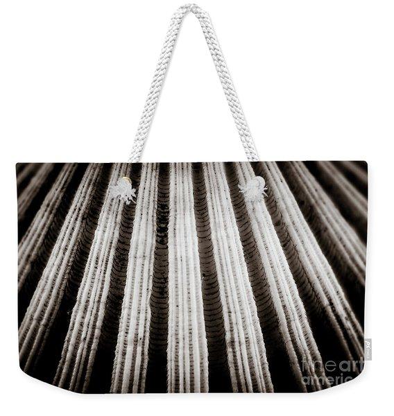 Abstract #2 Weekender Tote Bag