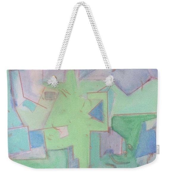 Abstract 3 Weekender Tote Bag