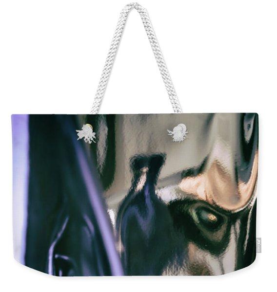 Abstract #8220 Weekender Tote Bag
