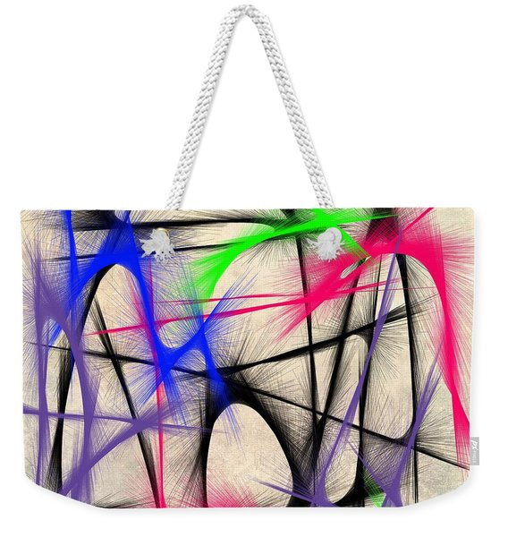 Abstract 901 Weekender Tote Bag