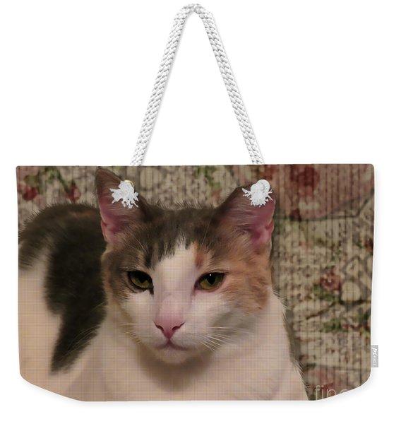 Abstract Bobbie Weekender Tote Bag