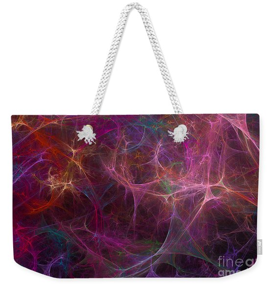 Abstract Colorful Fireworks Weekender Tote Bag