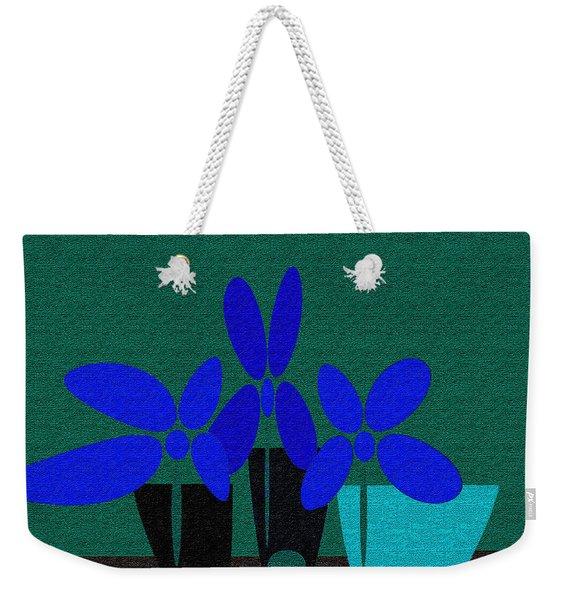 Abstract Floral Art 392 Weekender Tote Bag