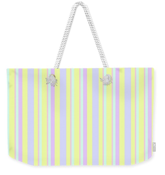 Abstract Fresh Color Lines Background - Dde595 Weekender Tote Bag