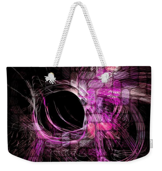 Abstract Heaven Magenta Weekender Tote Bag