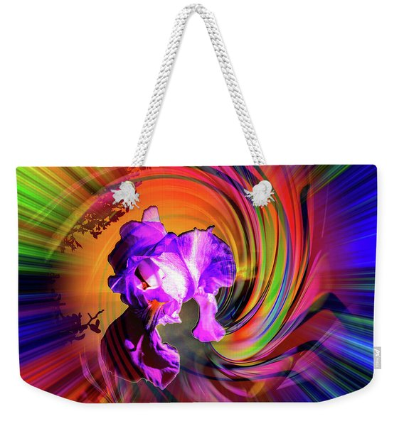 Abstract In Perfection - Fertile Imagination Weekender Tote Bag
