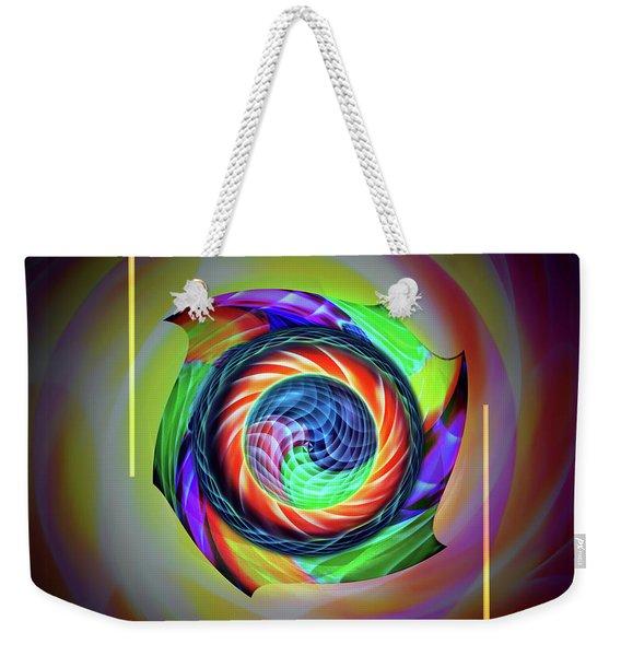 Abstract Perfection - Circle 3 Weekender Tote Bag