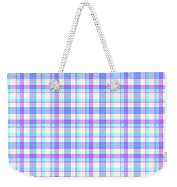 Abstract Squares Background - Dde598 Weekender Tote Bag