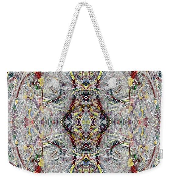 Abstract Symmetry 1 Weekender Tote Bag