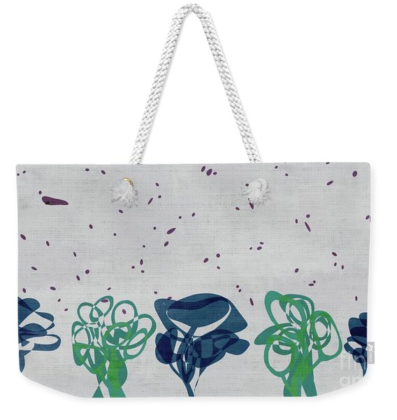 Abstract Trees - S01-88c4t15b Weekender Tote Bag