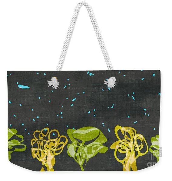 Abstract Trees - S01-a23c2t3 Weekender Tote Bag