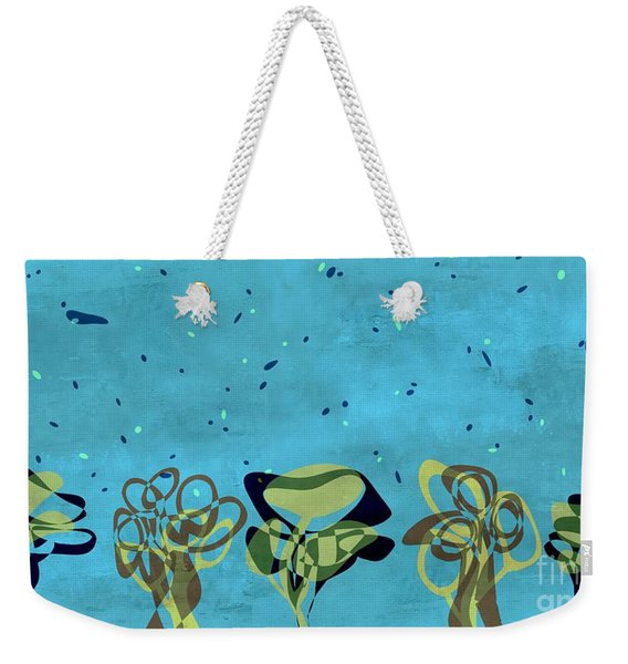 Abstract Trees - S01-a3c5at1 Weekender Tote Bag