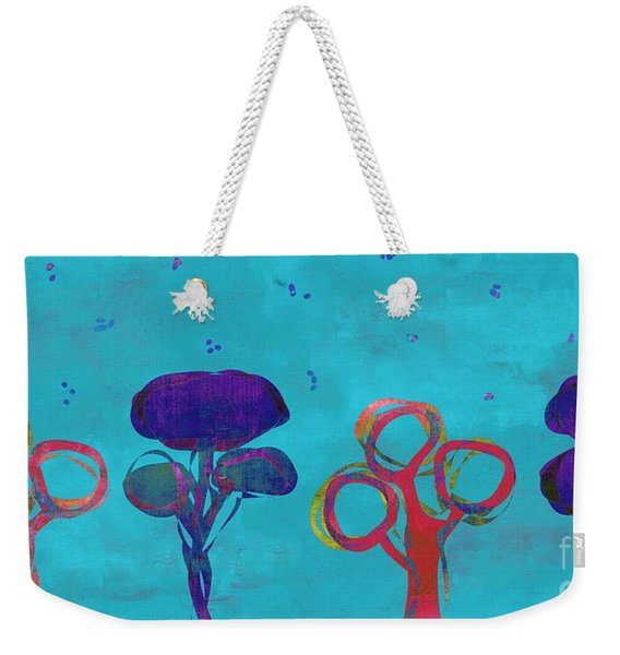 Abstract Trees - S02c15t2b Weekender Tote Bag