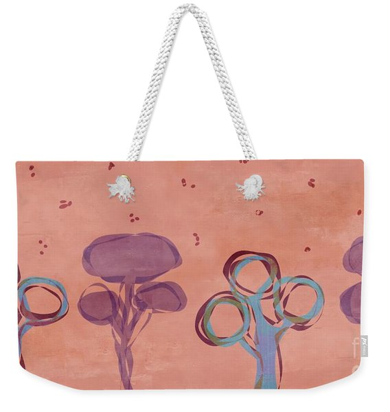 Abstract Trees - S02v2t08v2b Weekender Tote Bag