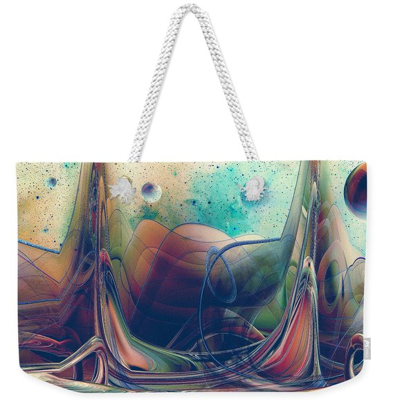 Turbulence Weekender Tote Bag