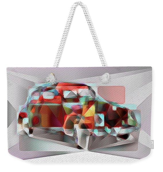 Abstract Vw Beetle Weekender Tote Bag
