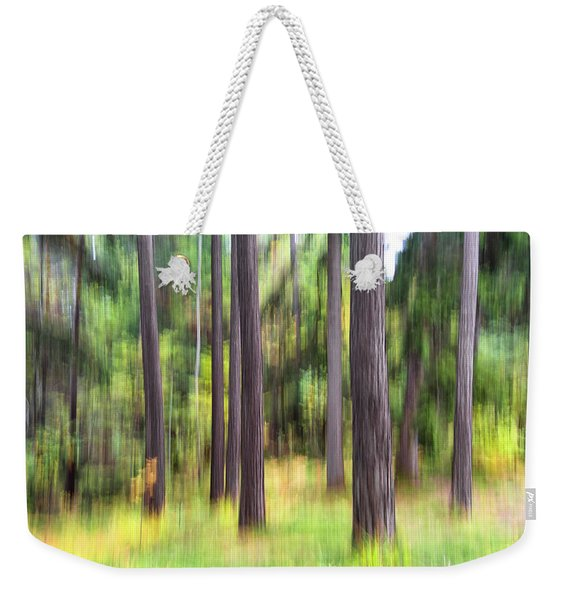 Abstract Wood Weekender Tote Bag