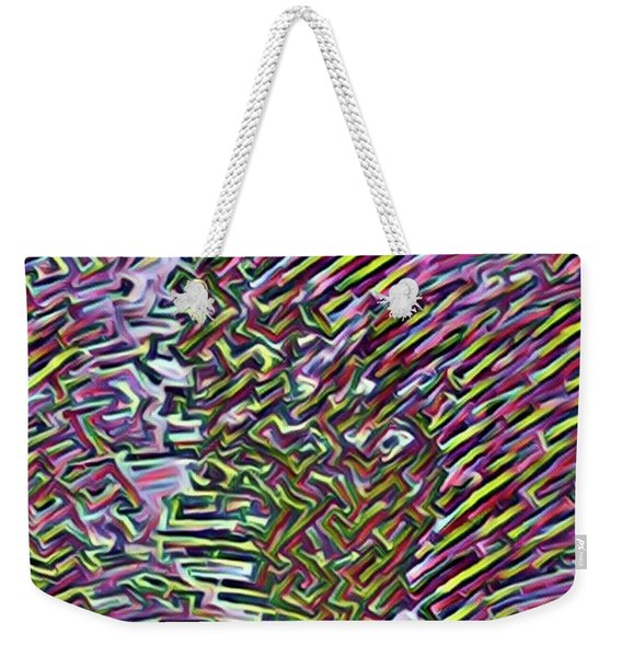 Abstraction Out Of Steel Weekender Tote Bag