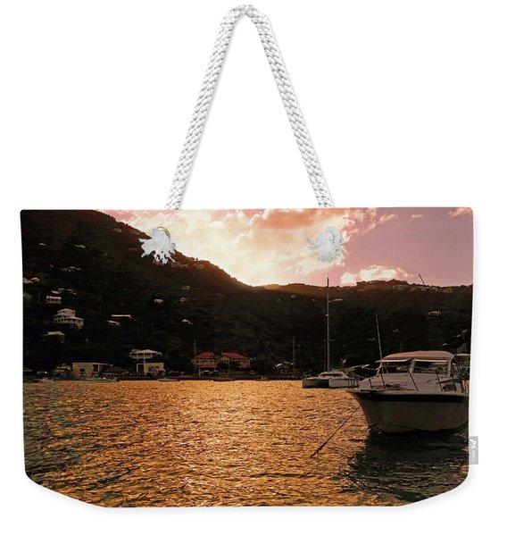 Abstractions Of Coral Bay Weekender Tote Bag
